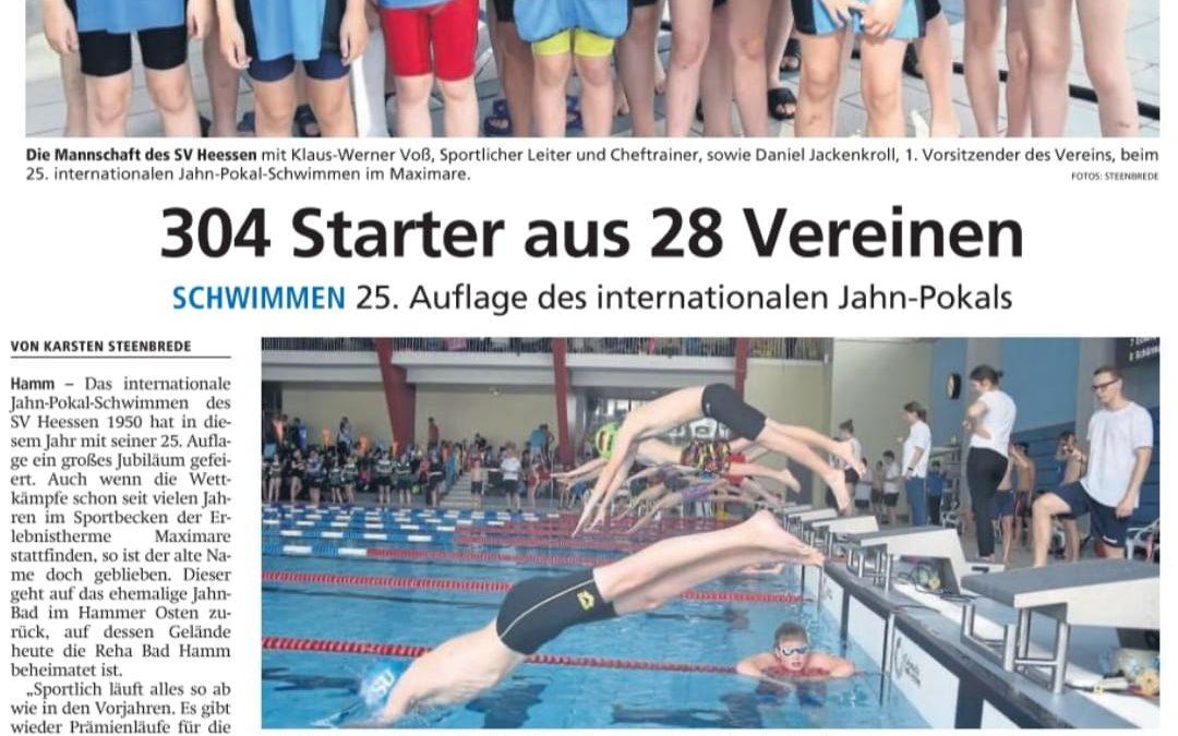 Zeitungsbericht Jahn Pokal